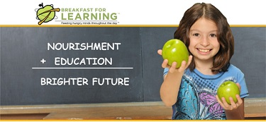 Breakfast for learning Logo